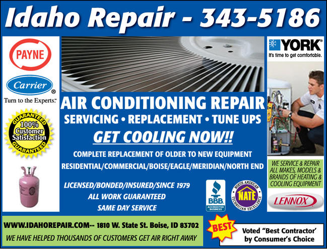 heating & air conditioning equipment